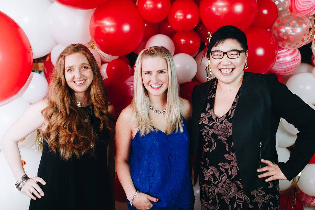 Being a part of the female entrepreneurship community here in Vancouver.