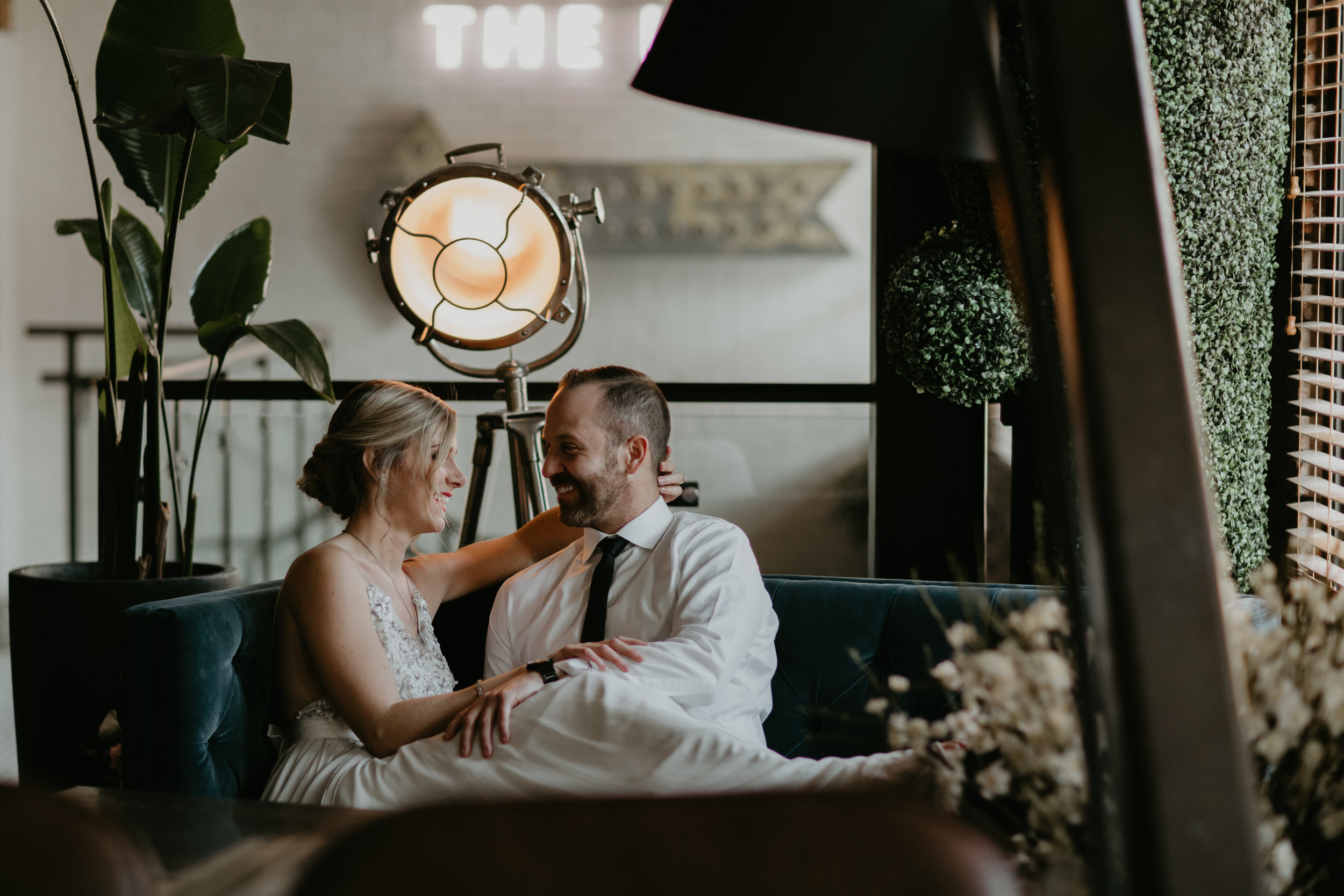 Loft Wedding Inspiration - Rocky Mountain Bride