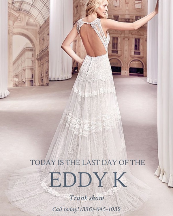 Today is it! The last day of our Eddy K Trunk Show! 💫