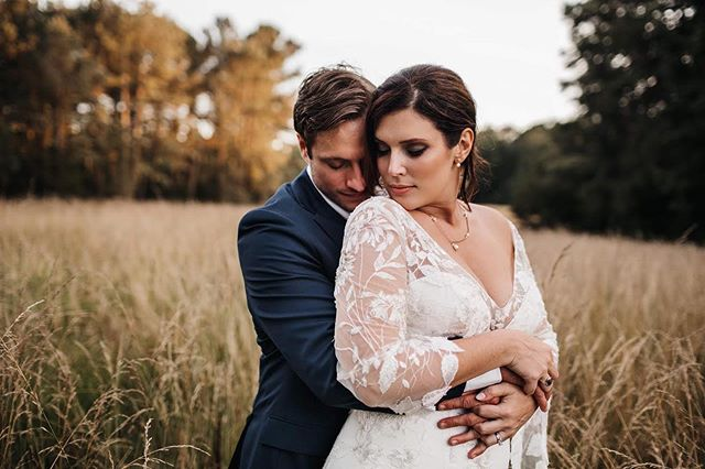 Our bride, Katie, looked absolutely stunning on her wedding day. We would love to help you find your dream dress like we did Katie! 😍💍 • Makeup @ashlyn.notomua Hair @kenz_hair @concept_salongso Venue @timberlakeearthsanctuary Coordinator @leftlanepro • • Book your bridal consultation appointment with us today by doing one of the following: 📲 336.645.1032⠀ 💌 hello@elizabellasbridal.com⠀  https://buff.ly/2X16ujM • • #bridaltrunkshow #weddingstyles #weddings #bride #brides #love #weddinggowns #weddingdress #weddingdressshop #bridalboutique #bridal #ncbrides #bridalshop #weddingdressshopping #boutiques #ncboutiques #greensboro #nc #raleigh #durham #charlotte #burlingtonnc #carolinabridal #carolinabrides #bridetobe #newlyengage #fallinlove #couple #marriage
