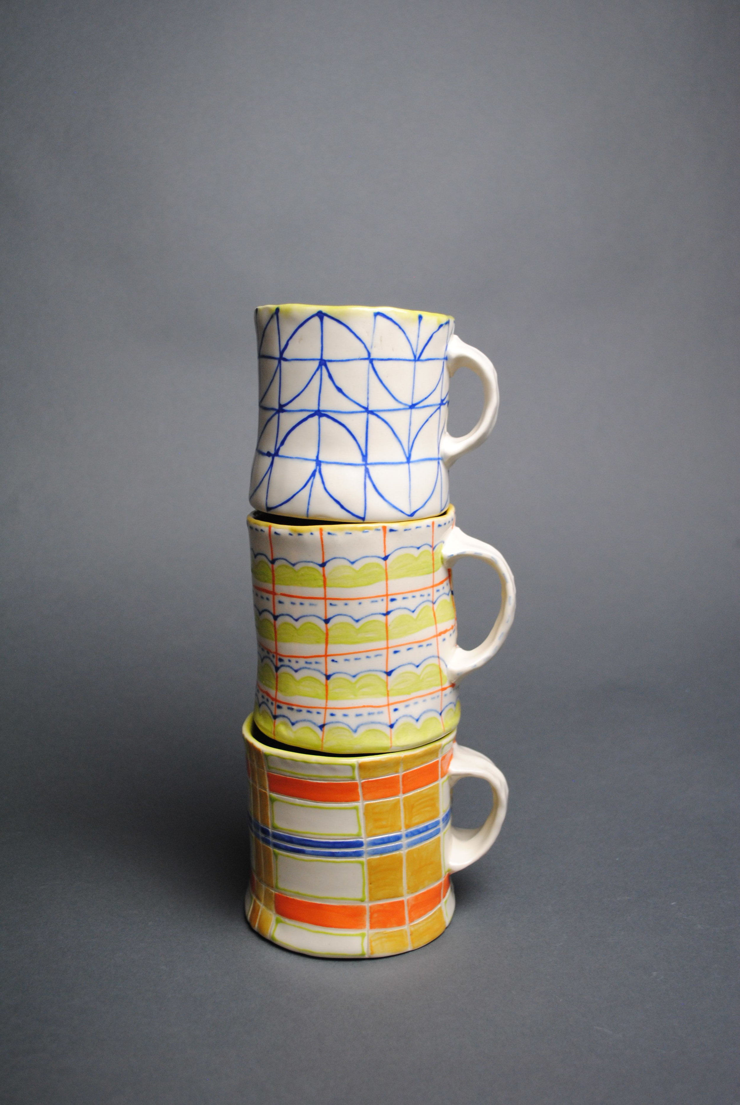Leaning Tower of Mugs