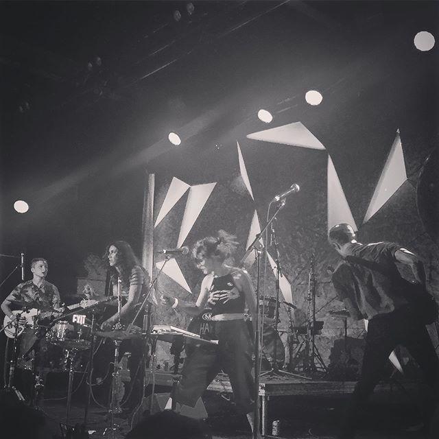 BODEGA (@bodegabk) at Elsewhere (@elsewherespace) June 2018. One of the best surprises of last summer.  #bodega #punk #livemusic #brooklynmusic #nycmusic #thebrotherpod #postpunksofinstagram #postpunk #b52s #artyo #concertphotography @thebrotherpod