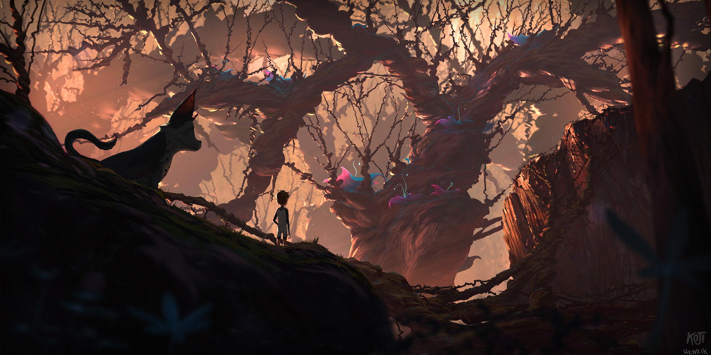 KOJI - Concept illustration for Alexander Snow