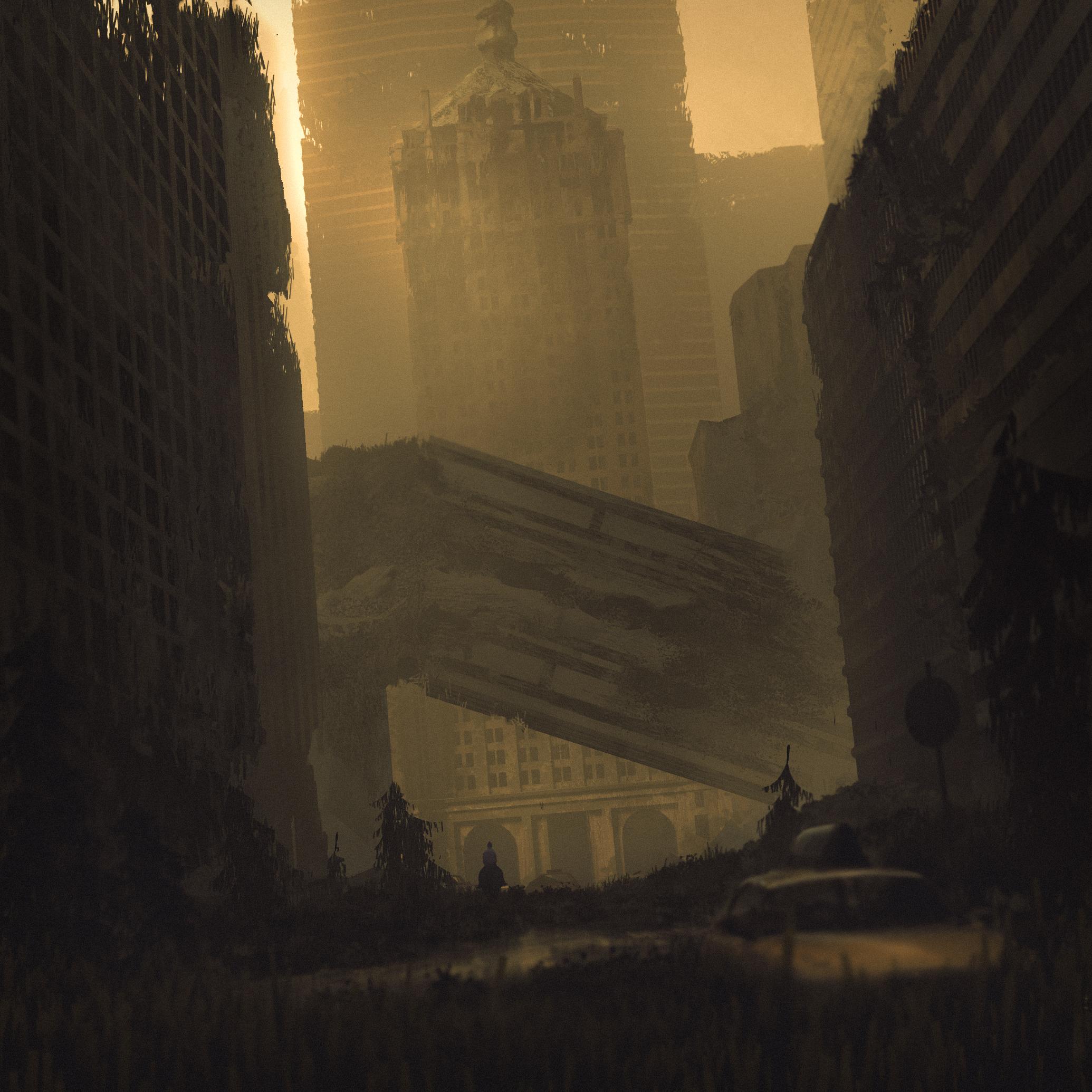 Post-apocalyptic NY