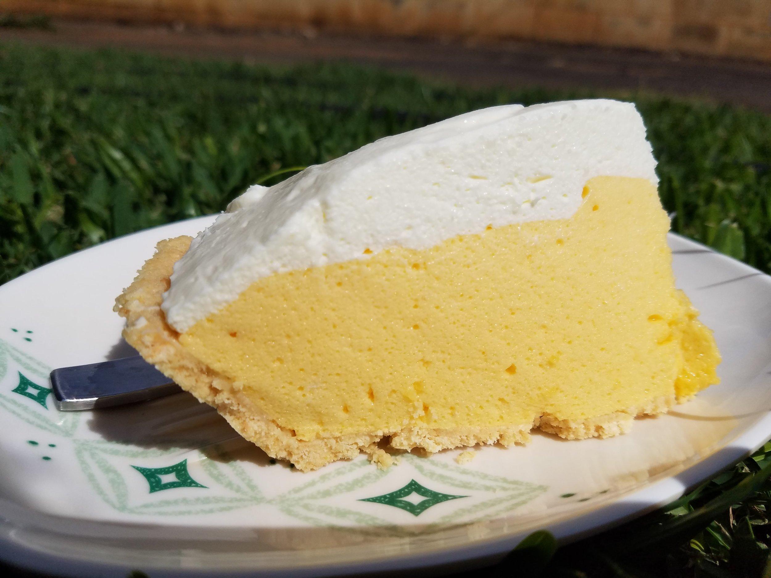 Perks of having a farm = Fresh fruits for fresh pies!