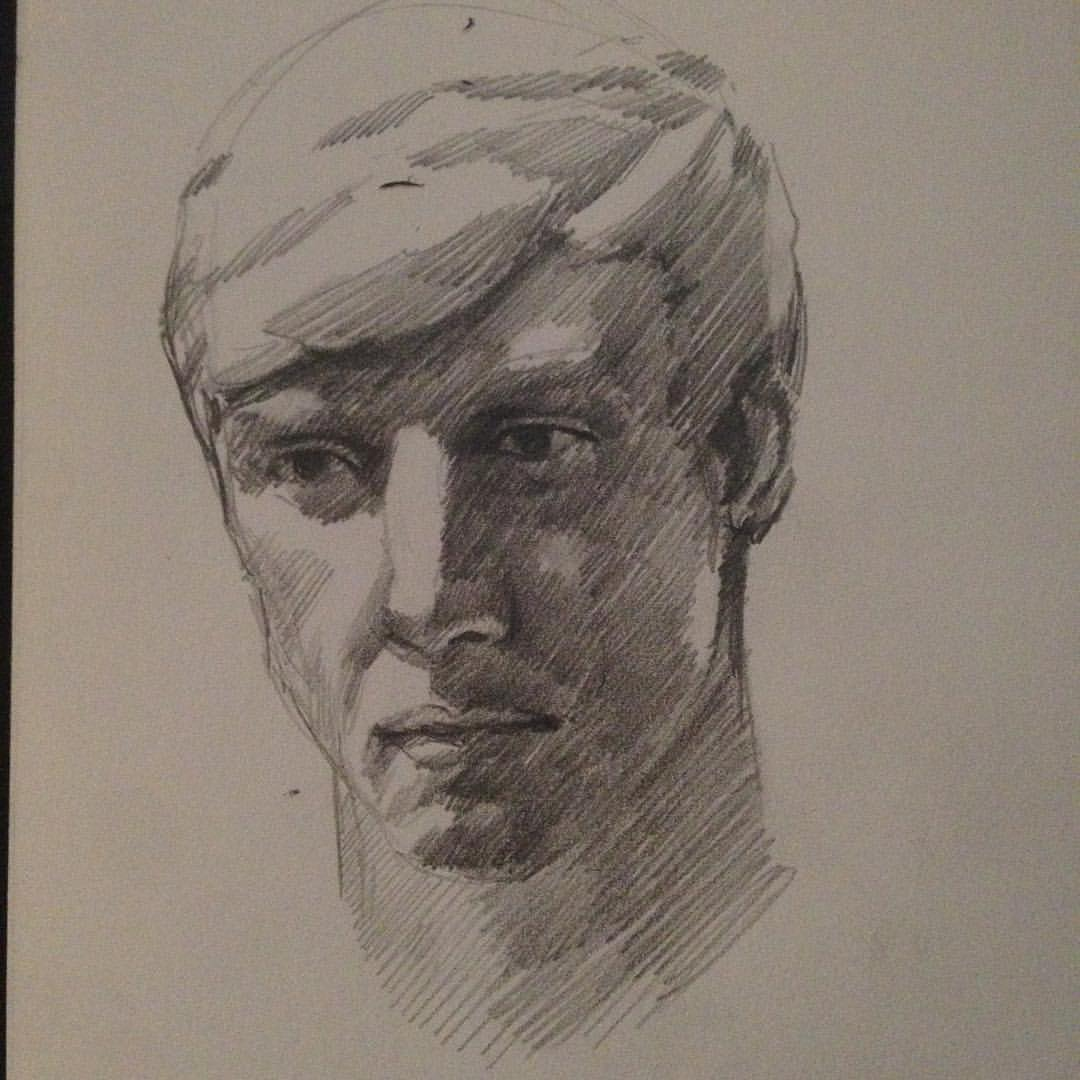 Sculpt study #drawing #sketching #study #pencildrawing