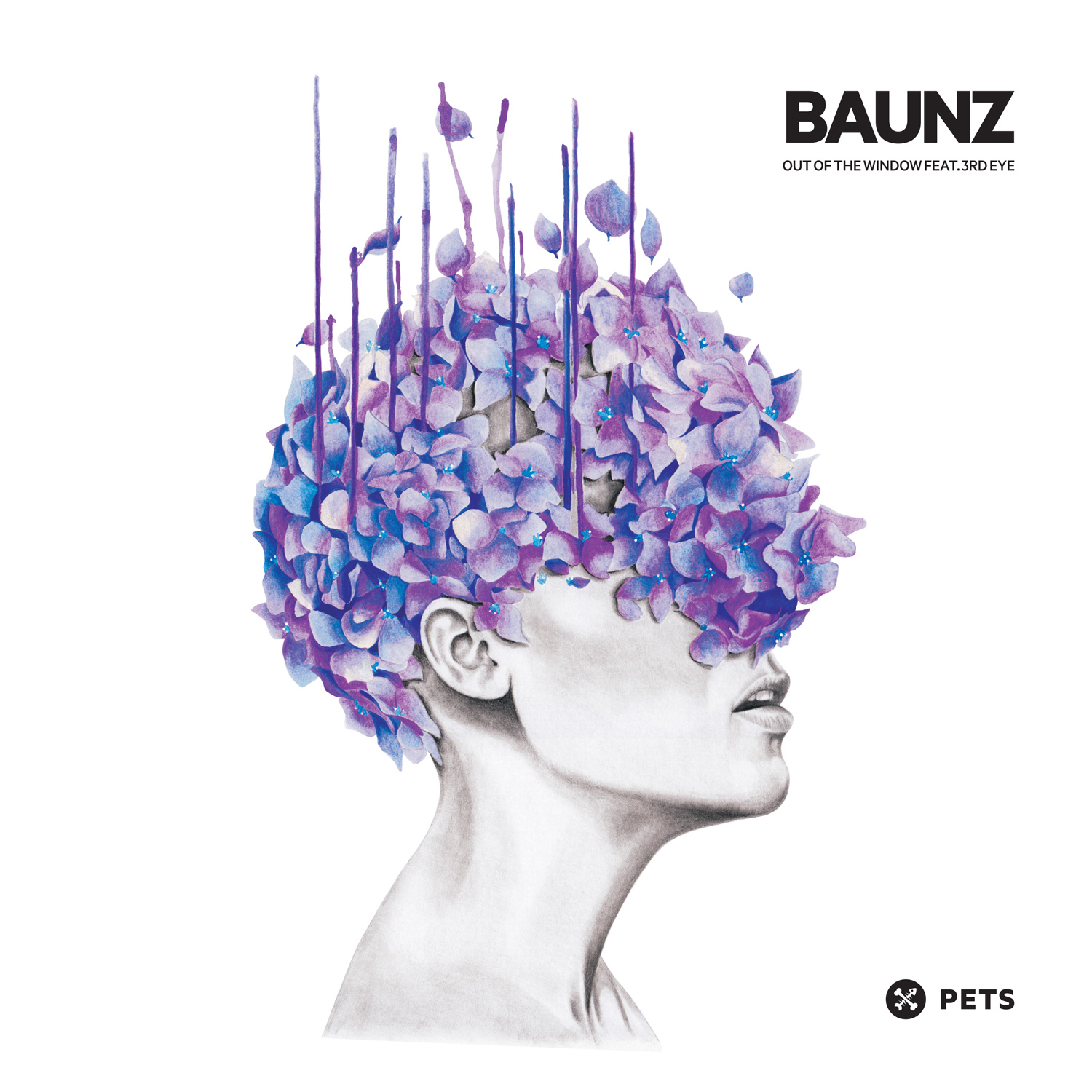 Baunz - Out Of The Window Feat. 3rd Eye EP [PETS039]