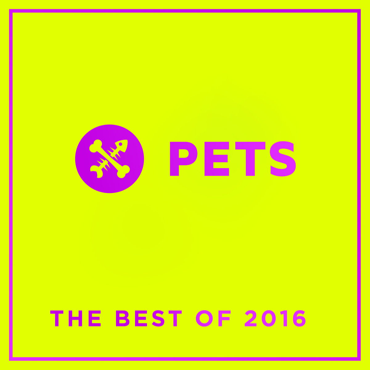 Pets Recordings The Best of 2016