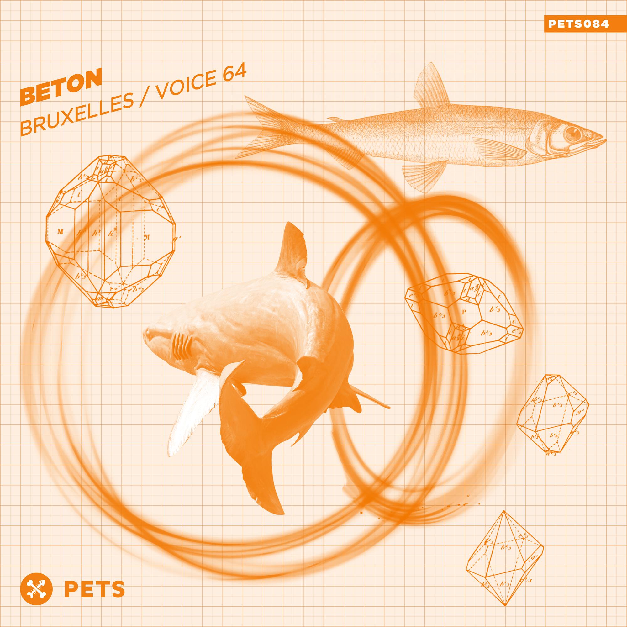 BETON - Bruxelles / Voice 64 EP