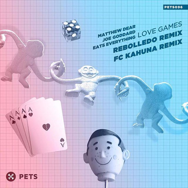 RECAP September 2018 🤡  @matthewdear @joe_hot_chip @eatseverything - Love Games w/ @rebolledodesign and @fckahuna #remixes . . . #matthewdear #joegoddard #eatseverything #lovegames #rebolledo #fckahuna #rework #single #collaboration