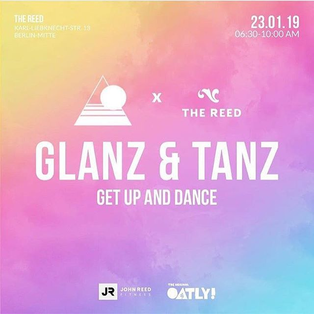@glanzundtanz #Sober #disco! Second round on 23.01!  Join morning #yoga, #dance & #vege #breakfast #activities at The Reed, #Berlin! 🧜♀🧜♂ @anna_flawsomeyoga @mayaholisticmassages . . . #feastartists #glanzundtanz #soberlife #soberliving #morningmotivation #thereedberlin #oatly #coffee #healthyfood #massage #dance #morningdance #dance #soberparty #party #alcoholfree #selflove #selfcare #mindfullness #meditation #crystals #healthy #lifestyle #berlin #2k19