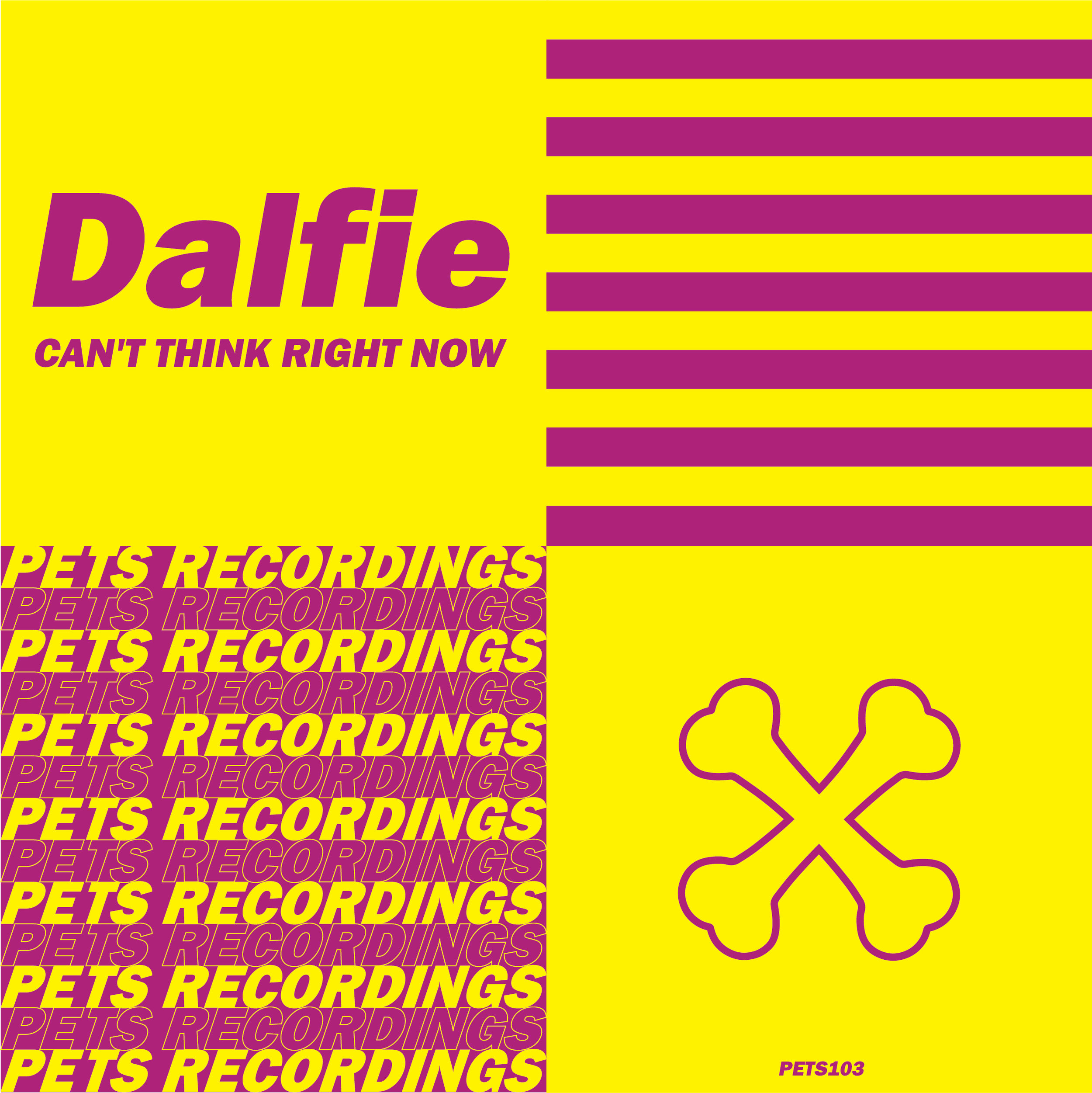 Dalfie - Can't Think Right Now [PETS103]