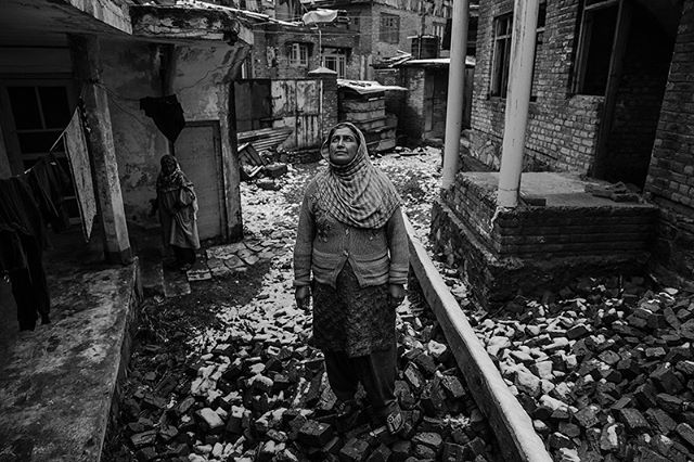 From May 9th to May 12th my portrait of Naseema Mehraj, taken in Srinagar, Kashmir, will be a part of the PHOS Festival in Sophia, Bulgaria.  Naseema is one of the thousands of half-widows in the Kashmir region. Half-widows are those whose husbands have 'disappeared' during the decades-long conflict or who have gone missing and are presumed dead. In April 1997, Naseema's husband, Mehrajuddin Dar, was obtained by the Indian Army along with 4 other men. Naseema never heard from her husband again, and no-one discovered the whereabouts of the 4 other men. #womenstreetphotographers #womenphotograph #sophiabulgaria #phosfestival #documentary #srinagar  #kashmir