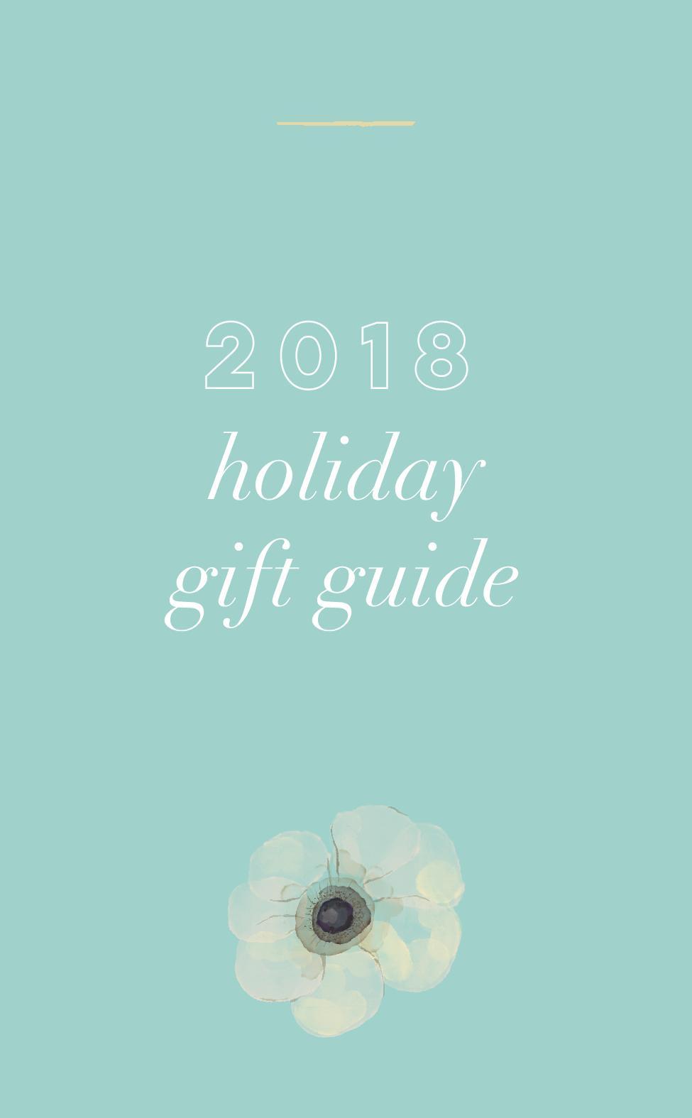 2018 Holiday Gift Guide | Rachel Allene Blog