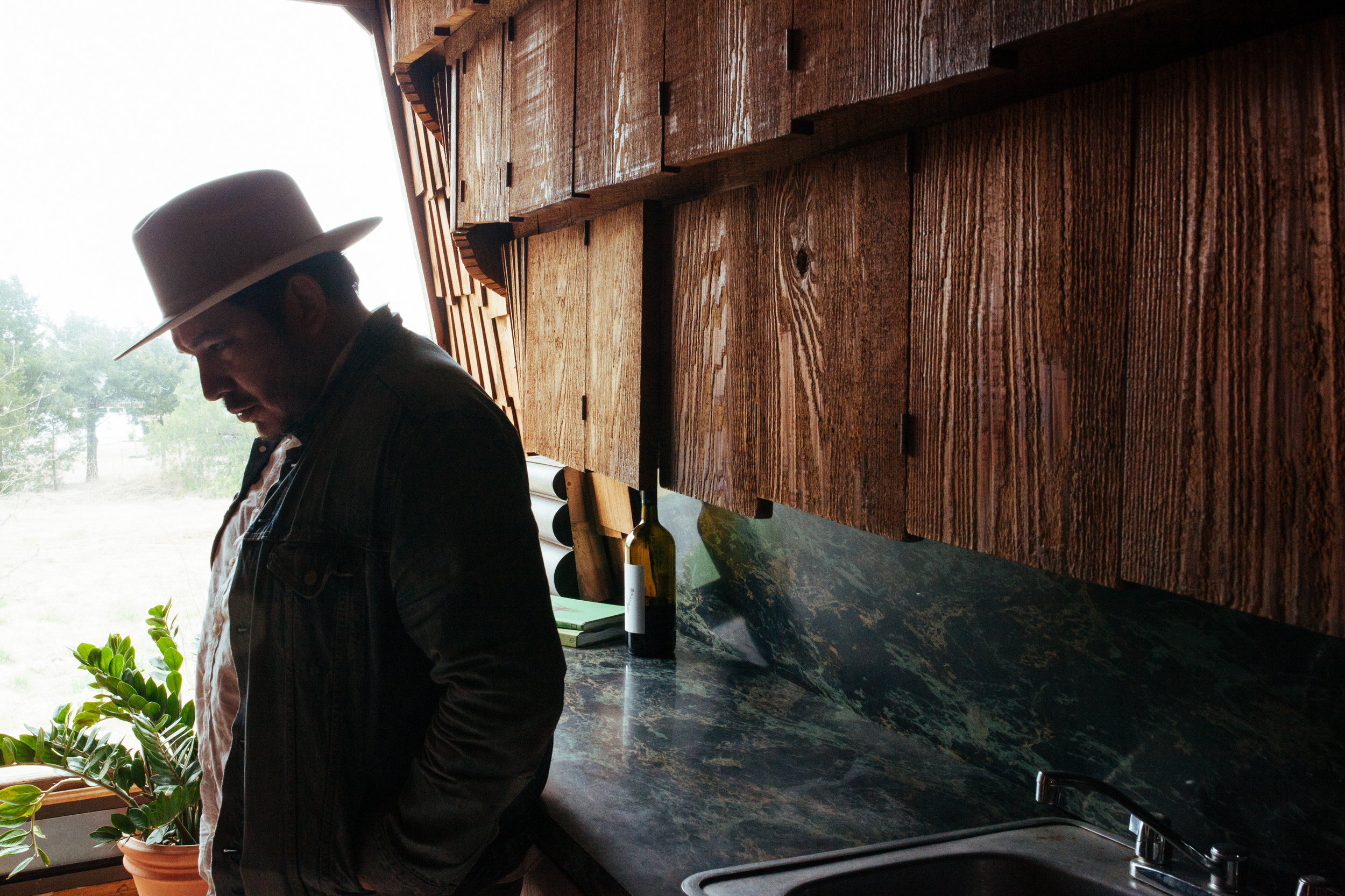 A shot form a recent visit to Herb Greene's  Prairie Chicken House . Photo by  Koon Vega