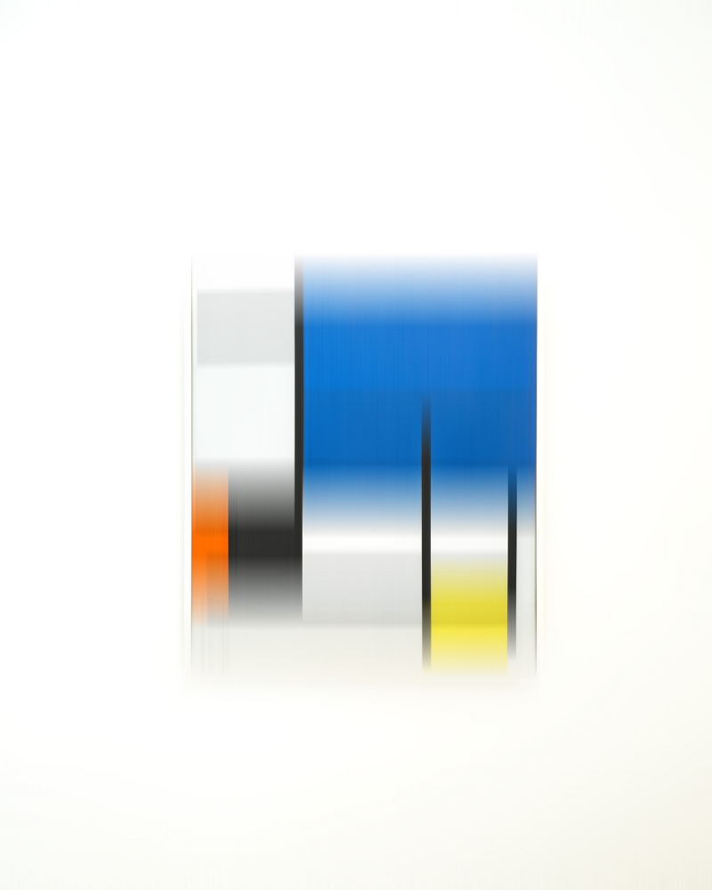Piet Mondrian  20 x 16 inches  Edition of 15   Available Here