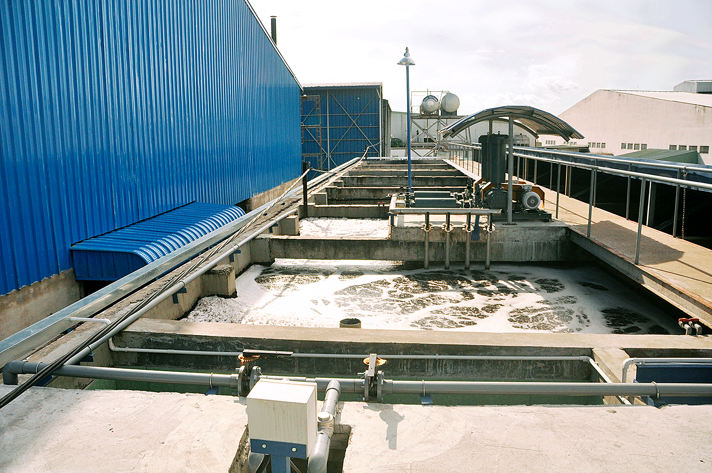 Water Filtration Portion of the Dyeing Facility