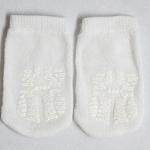 Infant Slipper Sock White