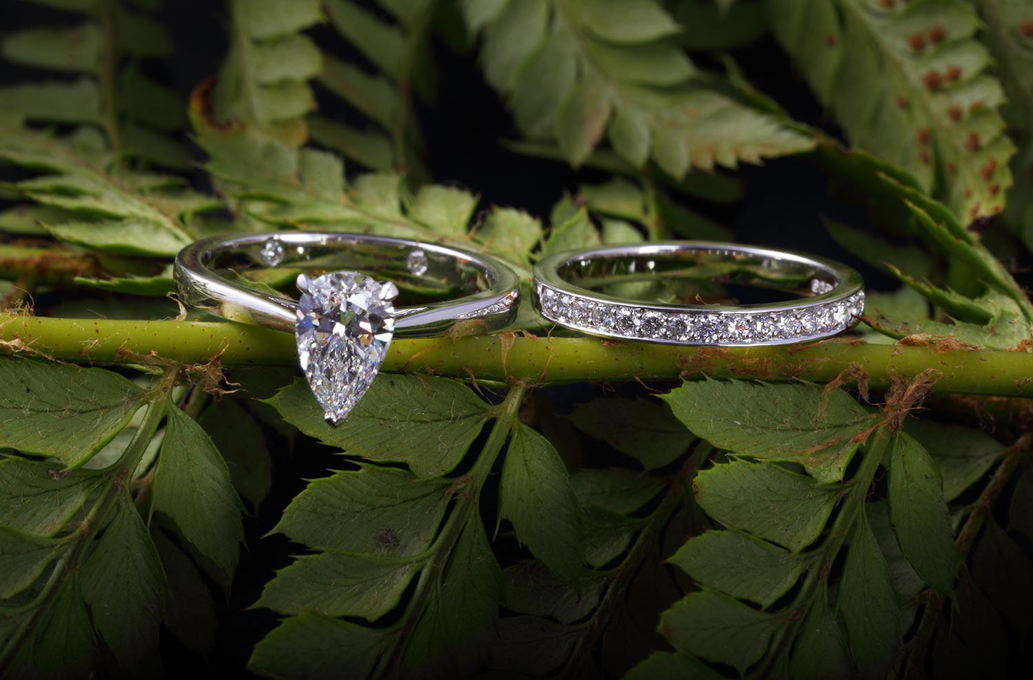 James Veale Bespoke diamond rings in Cambridge