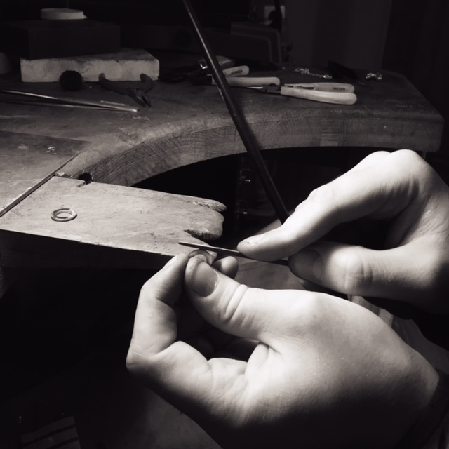 Hand finishing jewellery Cambridge