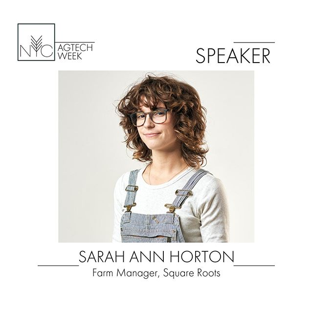 Sarah Ann Horton specializes in urban agriculture and workforce development. She has worked in a wide array of farming systems from regenerative soil agriculture to indoor hydroponics. She currently manages production while also training the next generation of farmers at @SquareRootsgrow