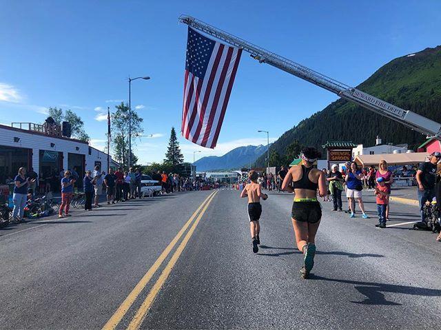 Toughest kids race around.  www.ktva.com/livestream to watch men's race at 11, women at 2. Alaska time.  #timetoplay #mountmarathon