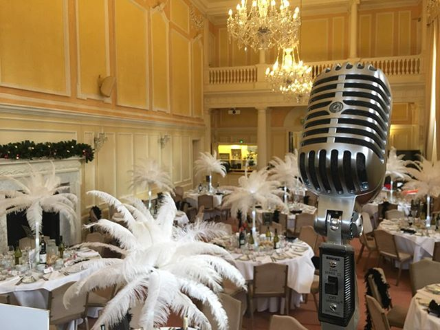 Live at @assembly_house Norwich to perform for the R3 Eastern Region Ladies Lunch! 🎙🎙 #vintage #sing #flapper #gatsby #music #entertainment