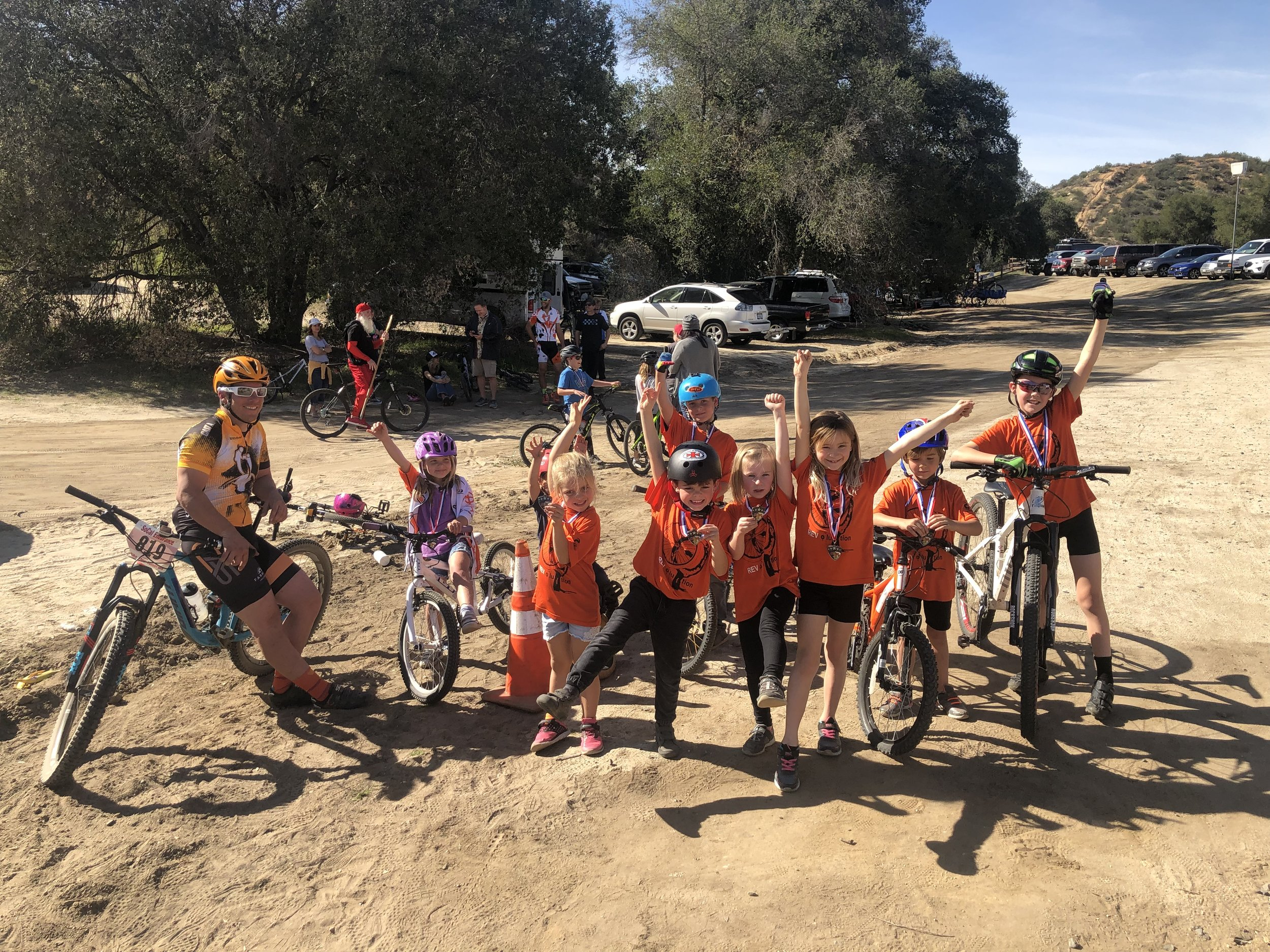 REVOLUTIONS Bike Race - Rev the Hearts of Our Youth. Aspen Institute's Study on Project Play states