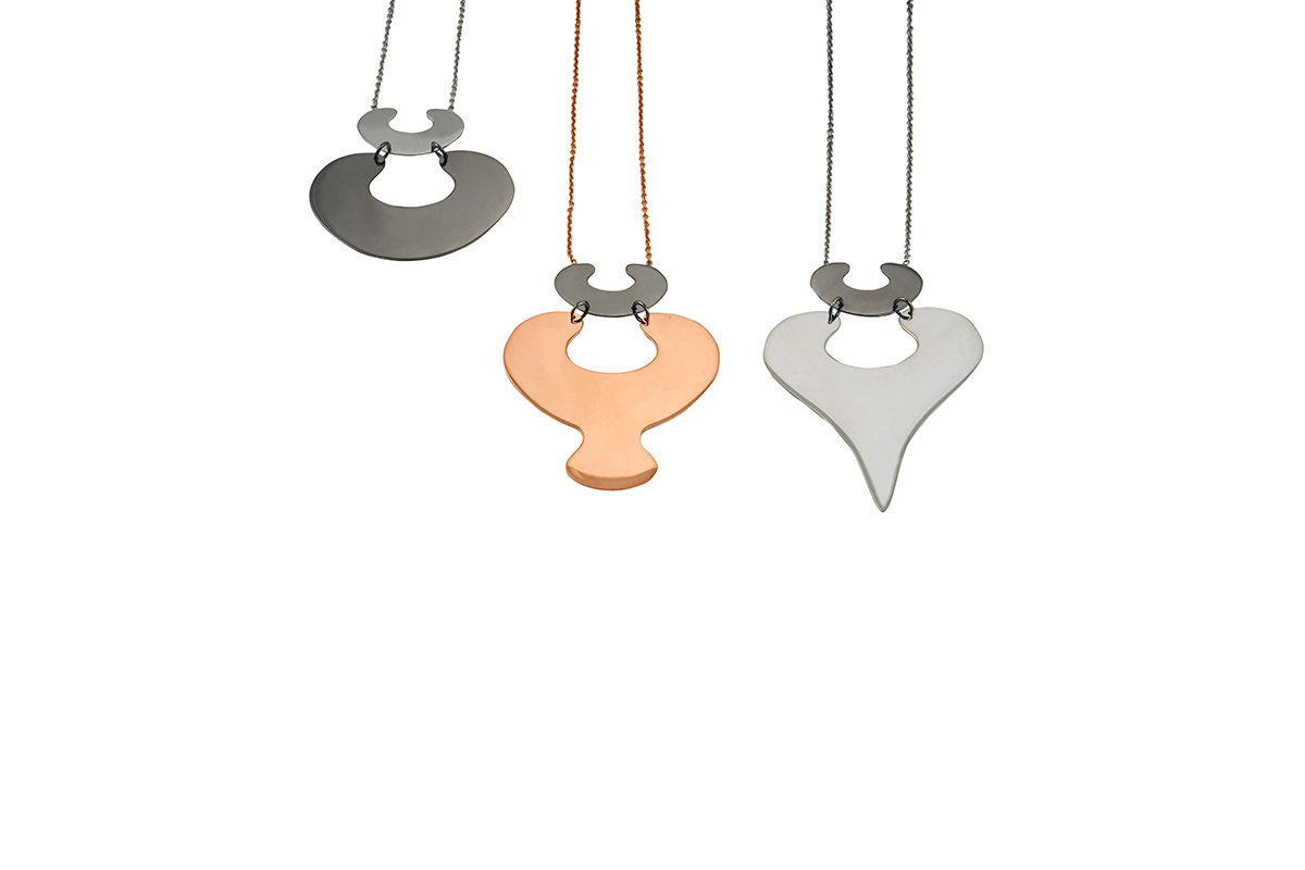 Pendants Platinum Plated Sterling Silver