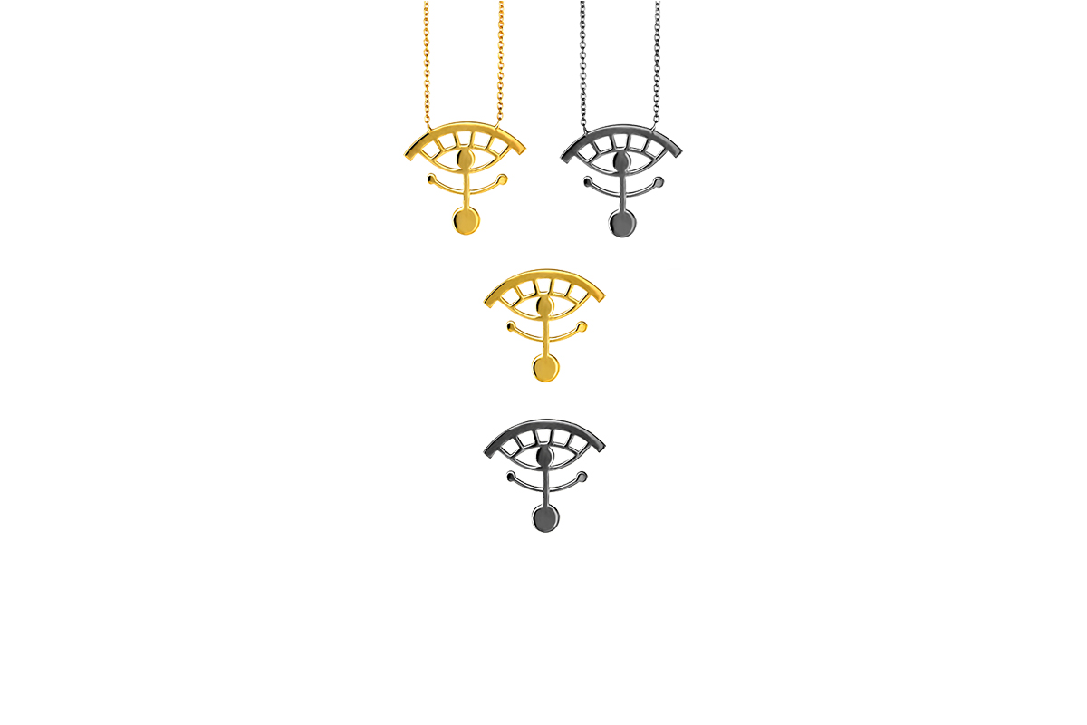 Pendants/Earrings Gold/Platinum Plated Sterling Silver