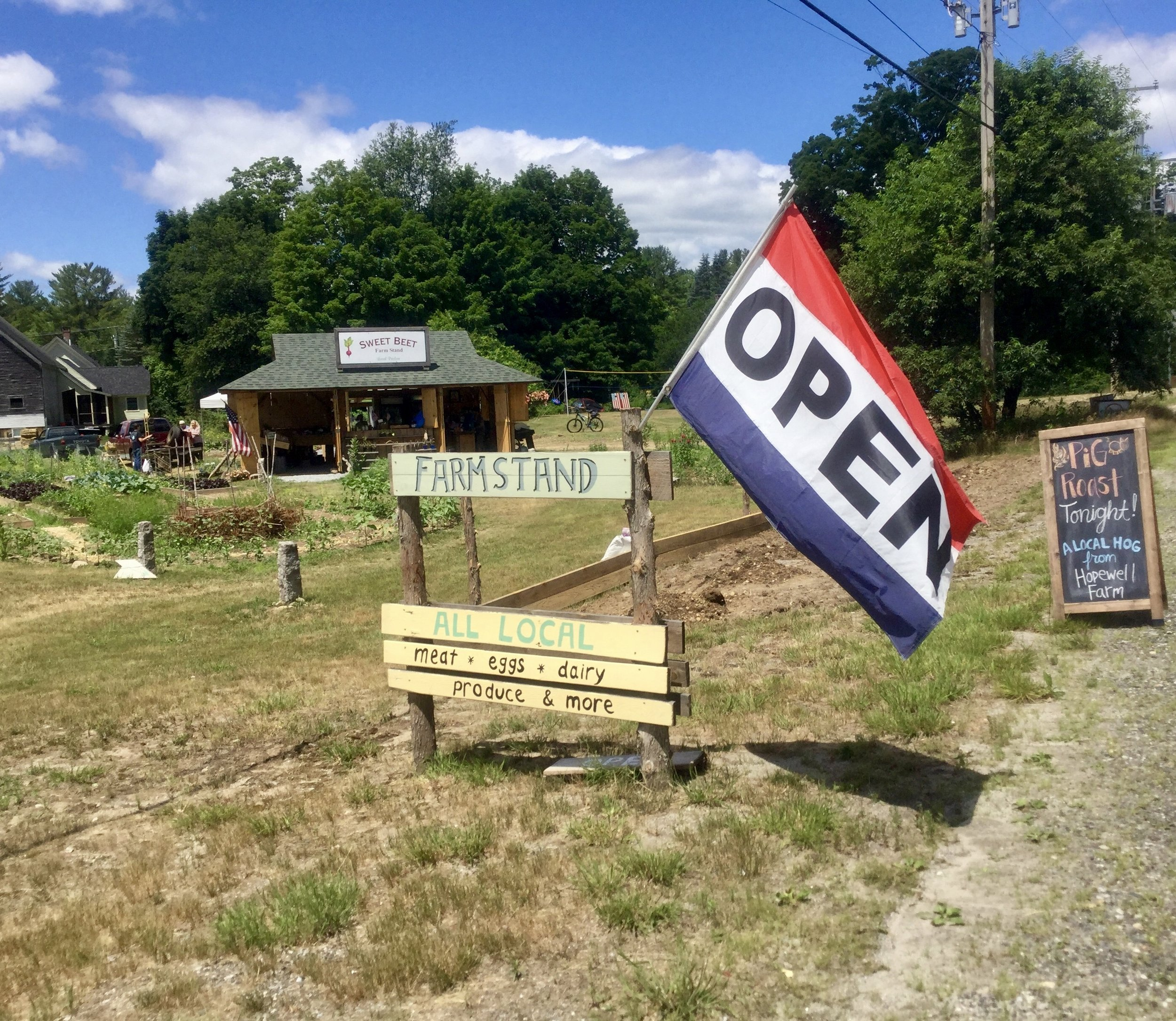 Open for business! 30 Producers | 30-mile Radius