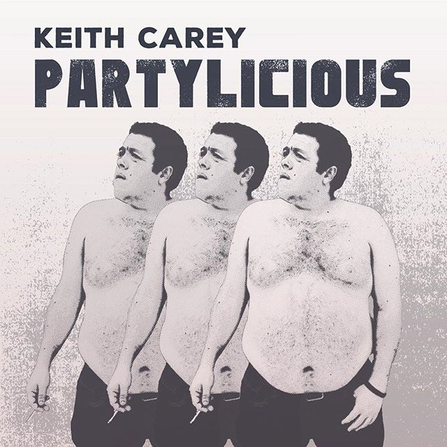 "#Repost from Filth Factory 🏭 alum: @keithtellsjokes  My new album ""Partylicious"" is coming soon courtesy of @radlandrecords ! Pre-sales 5/17, available everywhere 5/24. (Cover art by @thenortherncanadian )"