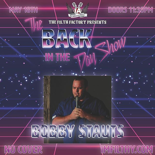 You'll have to ask @bobbywaynes about his past some day, but what can we say? ...He B Cool...He B the Coolest... And one of the funniest dudes in Las Vegas! . . . . . . . . . . . 🚪 Doors open at 11:30 🍷 $25 All You Can Drink 🎟️ Click the link in our bio