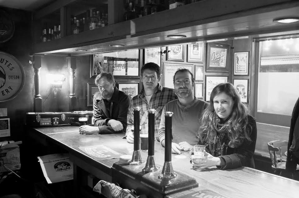 horsenecks at bar b&w.jpg