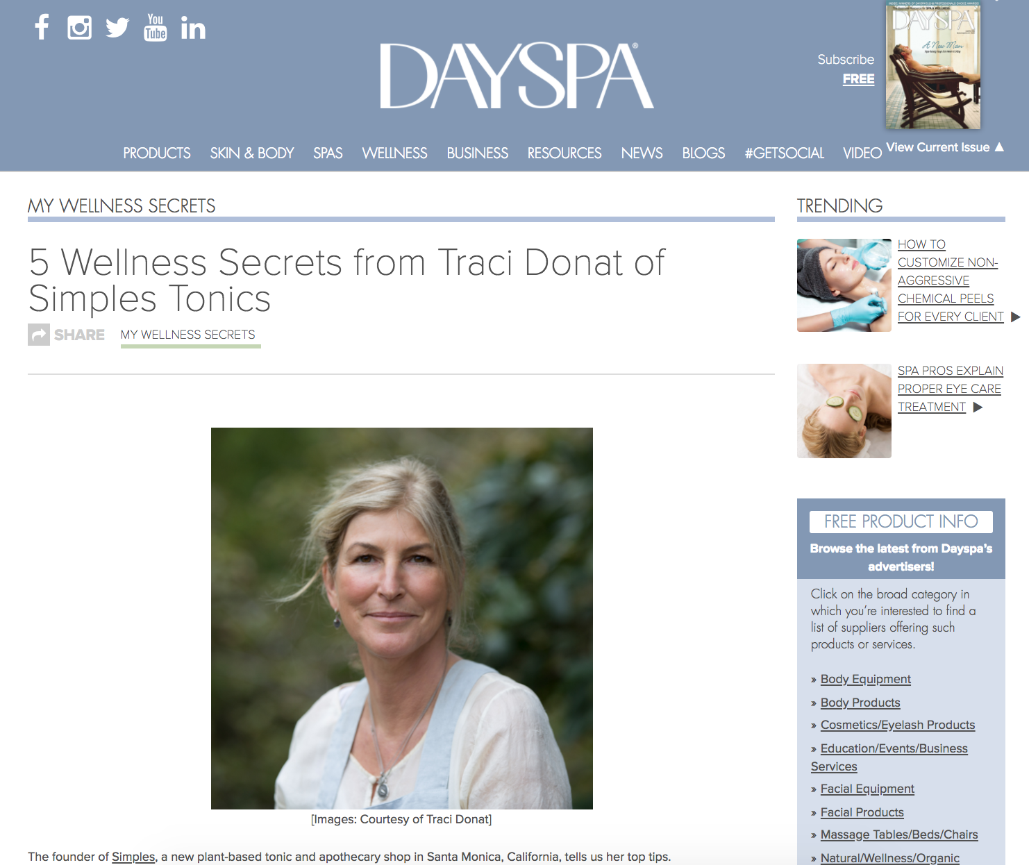 DAYSPA MAGAZINE - September 2017