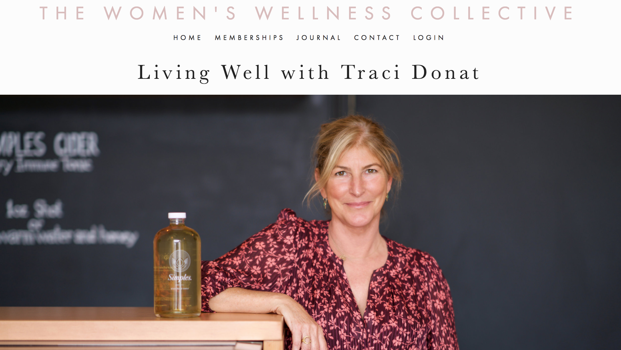 WOMEN'S WELLNESS COLLECTIVE - March 2018