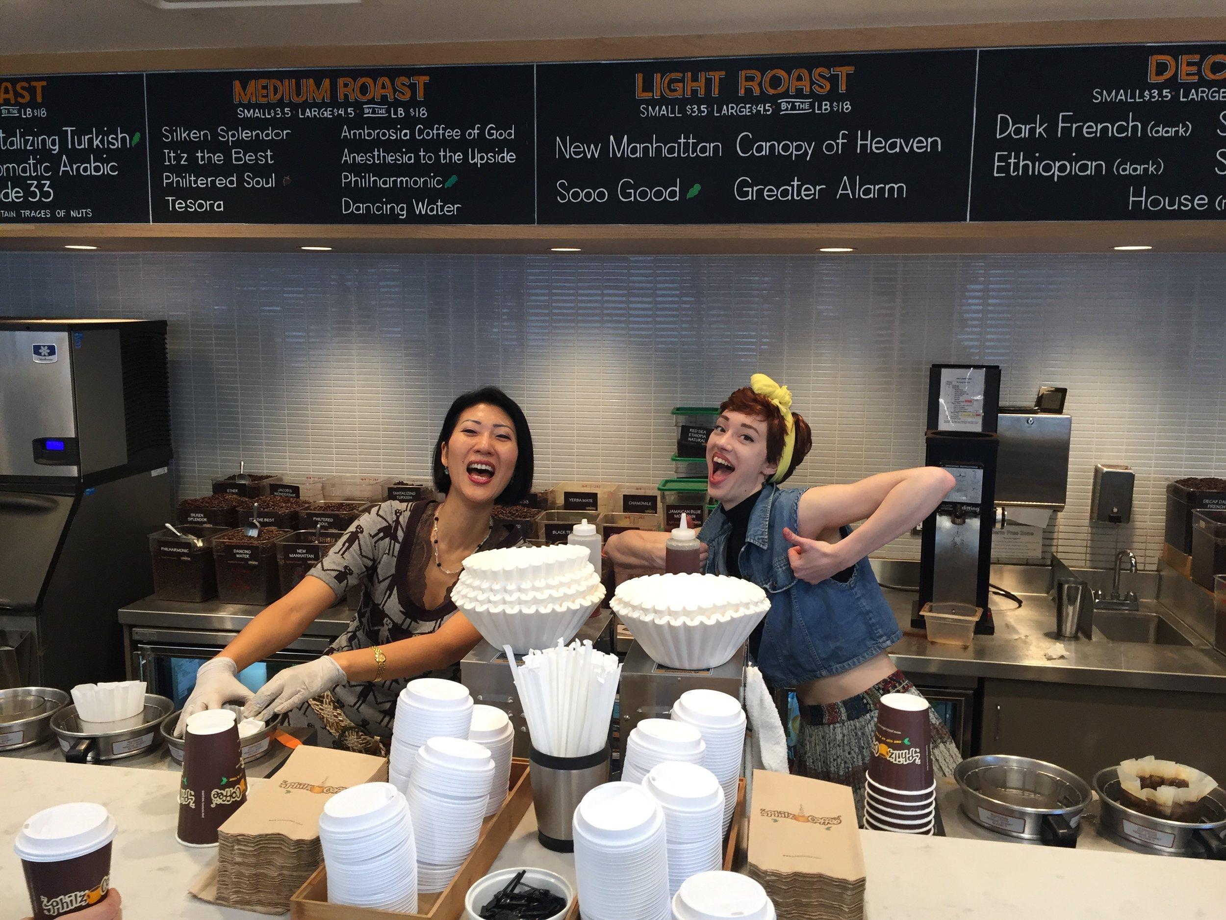 Philz Coffee Shop! Thanks ladies.