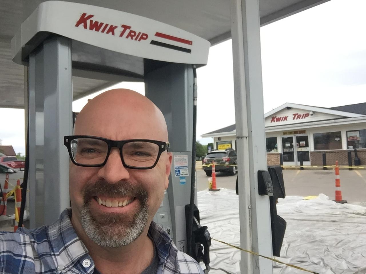 Finally! Kwik Trip. (with a K)