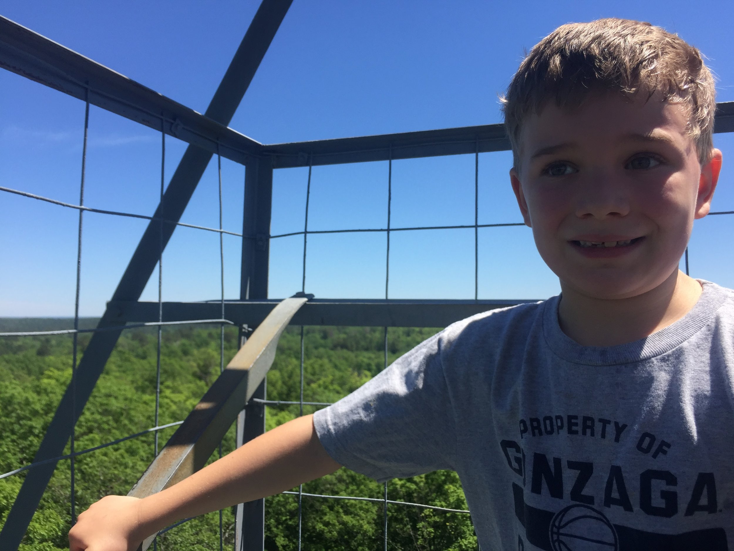 Top of the fire tower