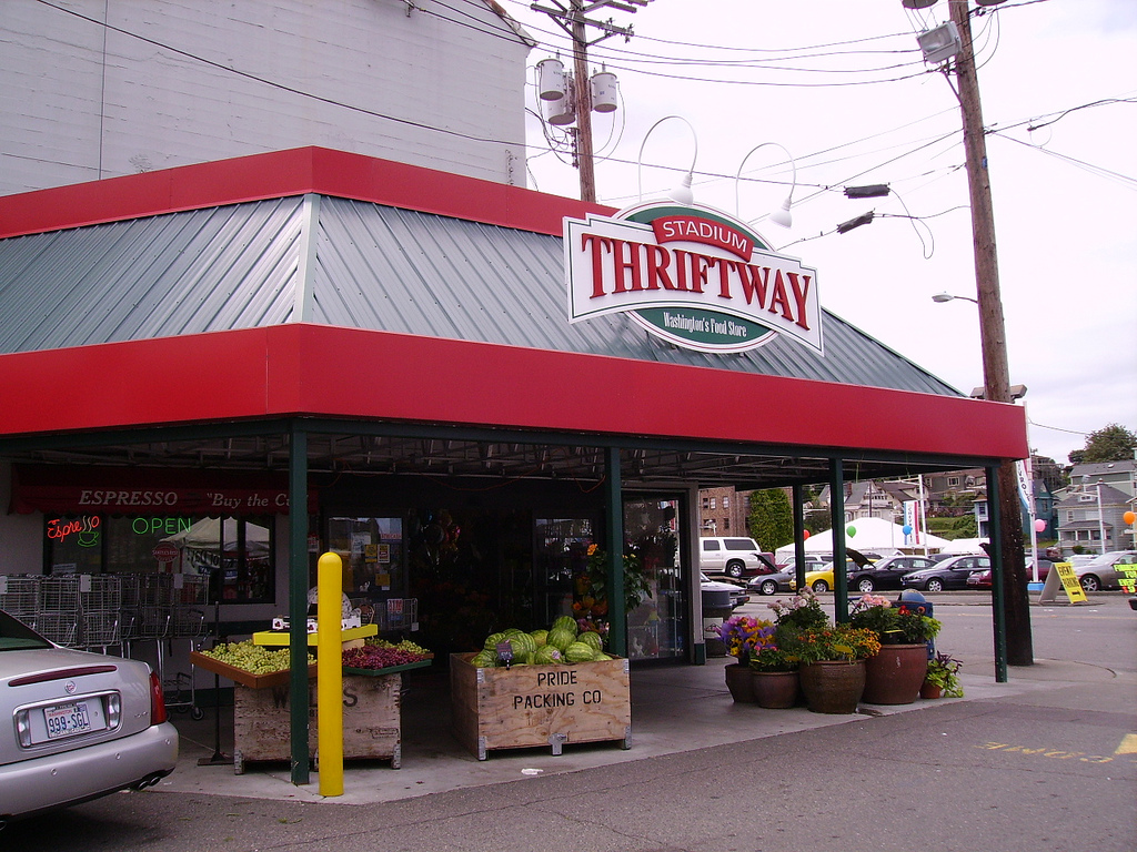 Stadium Thriftway is Stadium's grocery store. They have a full service deli and a well attended wine aisle.