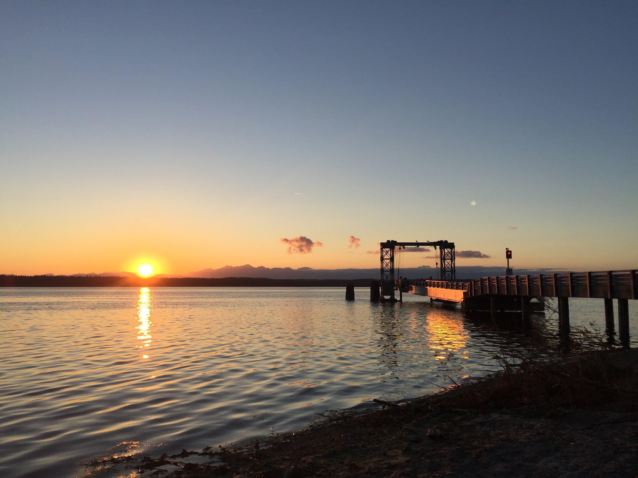 Herron Island Ferry Dock