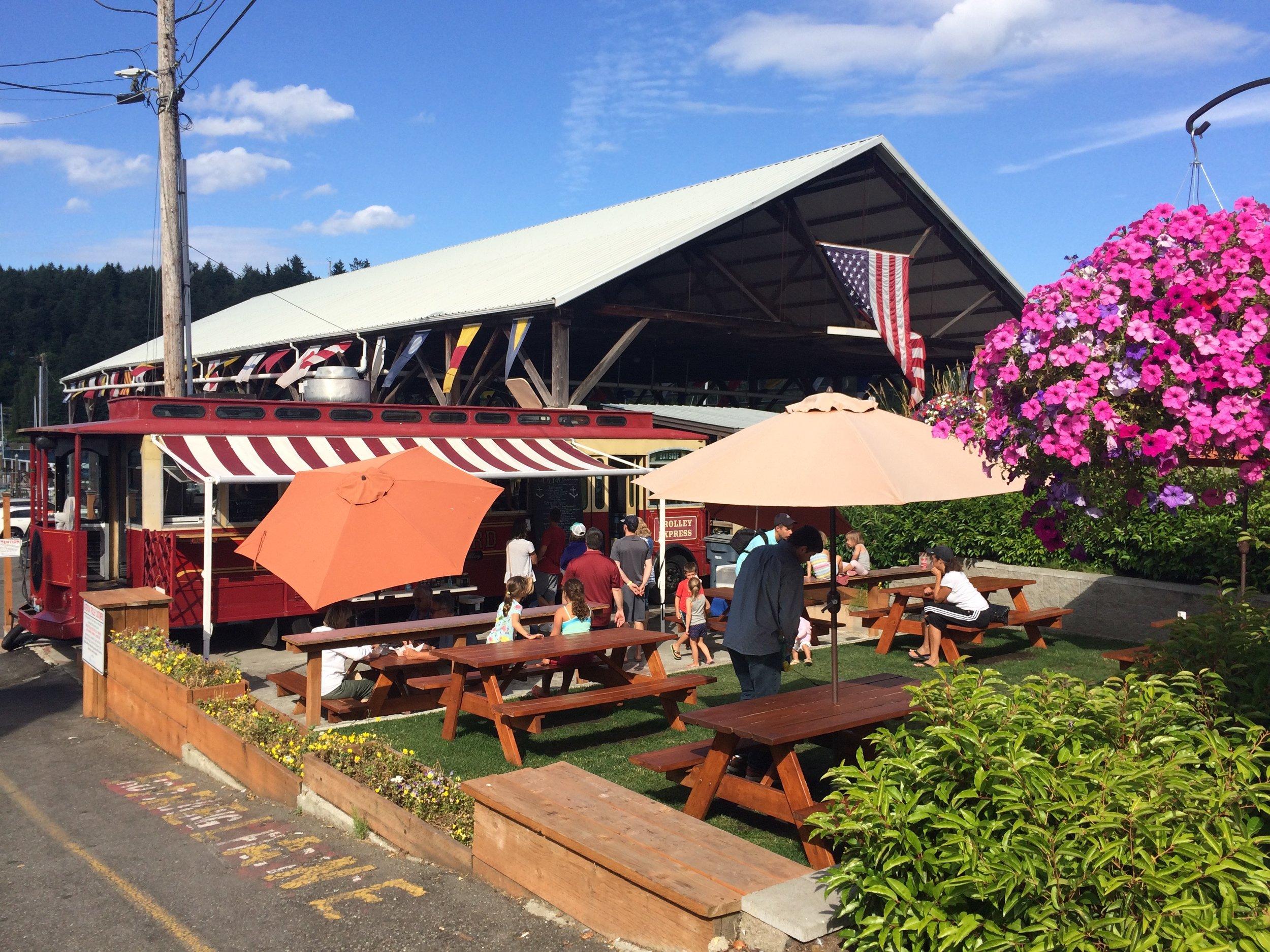 The Boatyard Food Trolley
