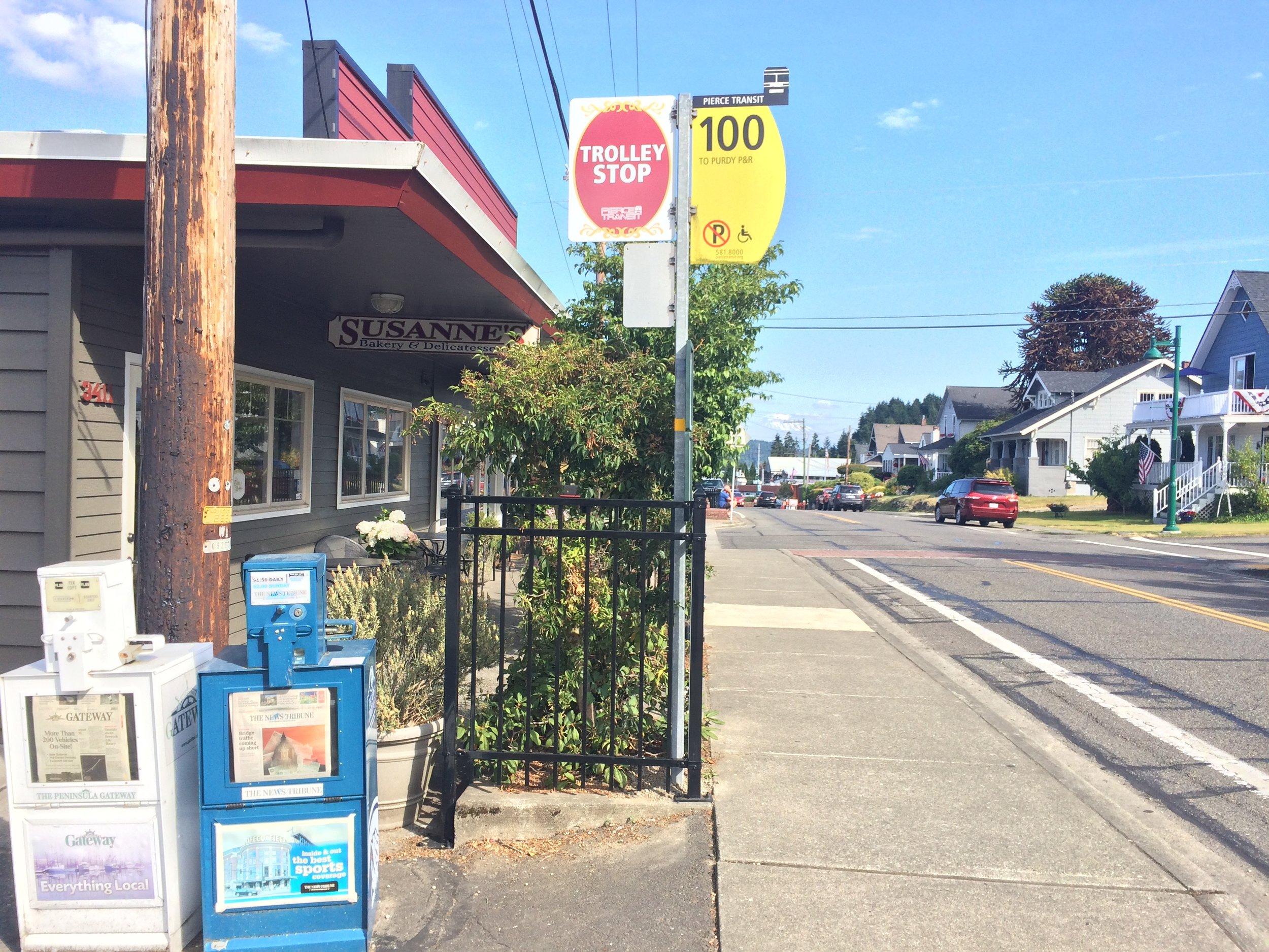 Susanne's Bakery & The Trolley Stop
