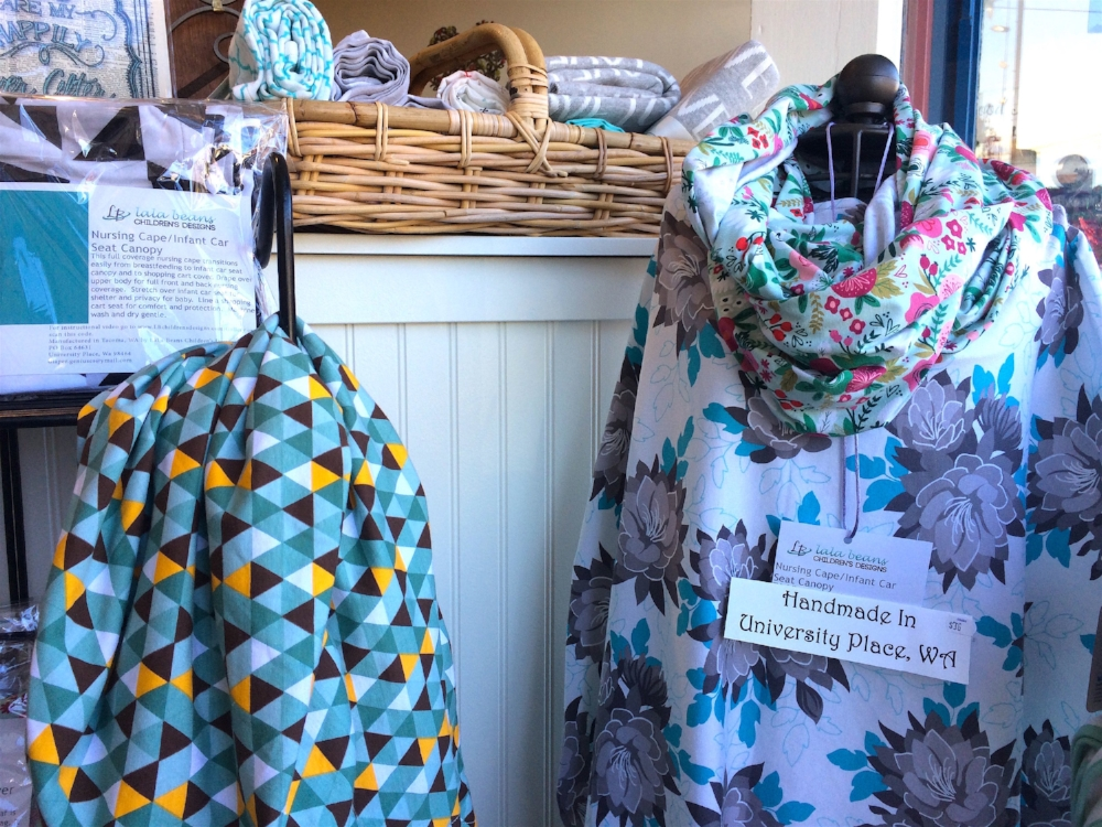 Lala Beans maternity scarves/capes. Made right in UP!
