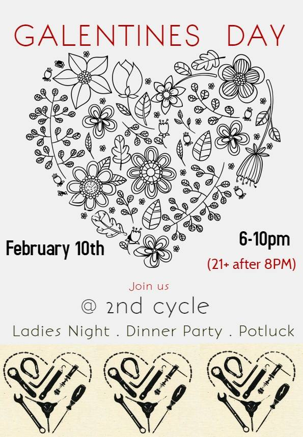Sweet event poster from  @ladiesnight253