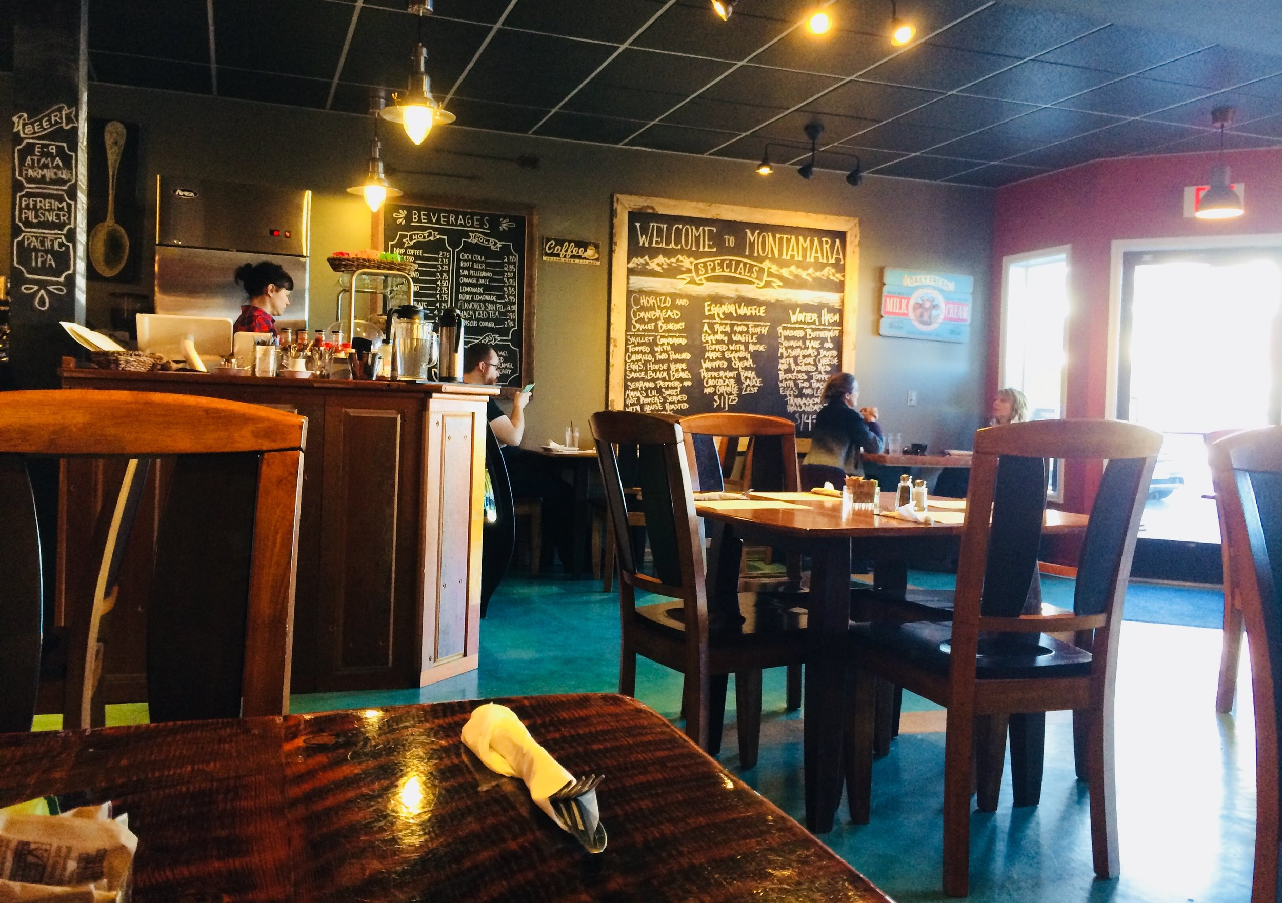 Montamara Kitchen: a warm, cozy place with delicious, made-from-scratch food.