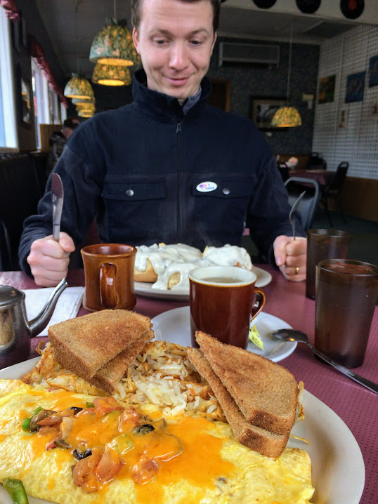 Chimacum Cafe's Everything Omelette