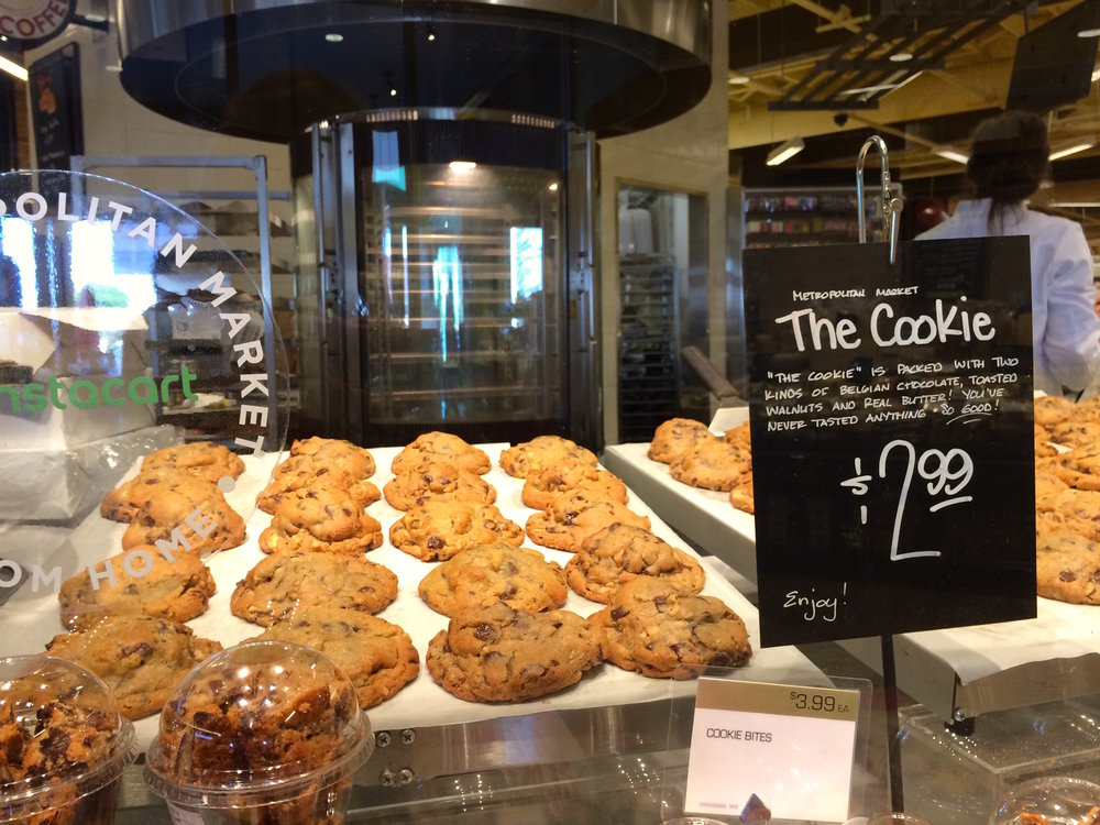 Fair warning: if you move here, you will start to eat The Cookie more often.