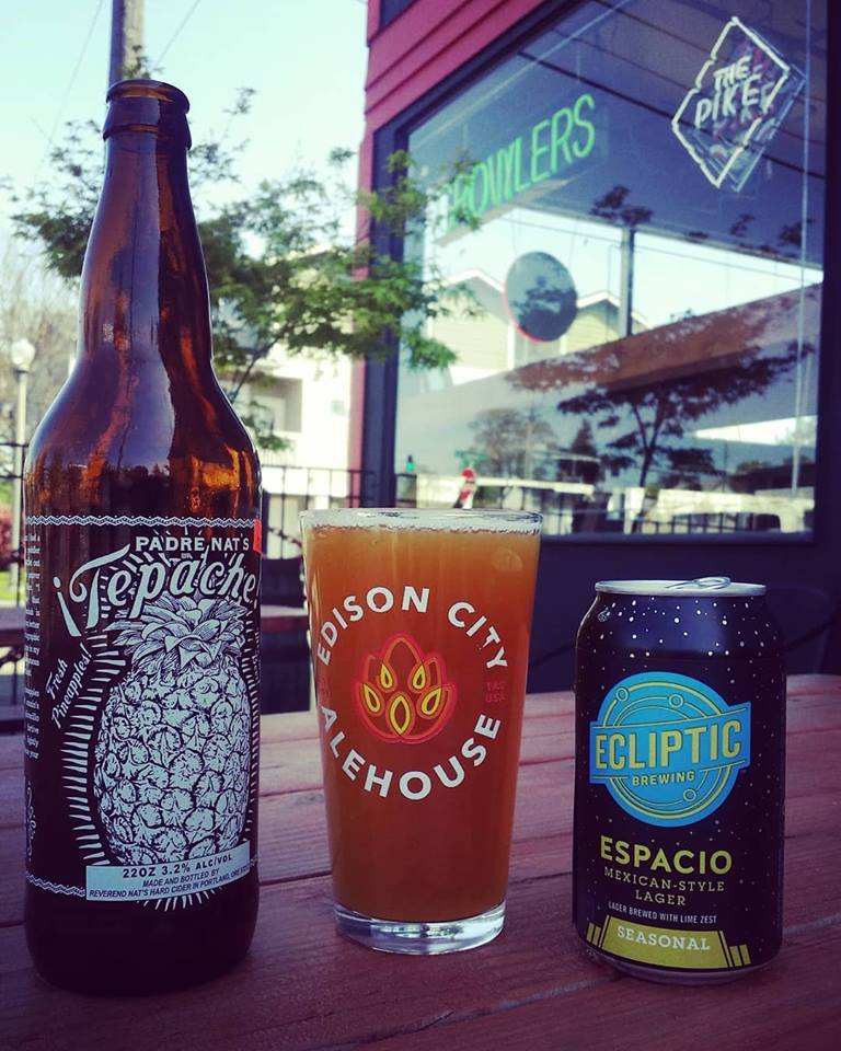 Just 5 minutes away, Edison City Alehouse often has a food truck outside!  Image from    Edison City Alehouse   .