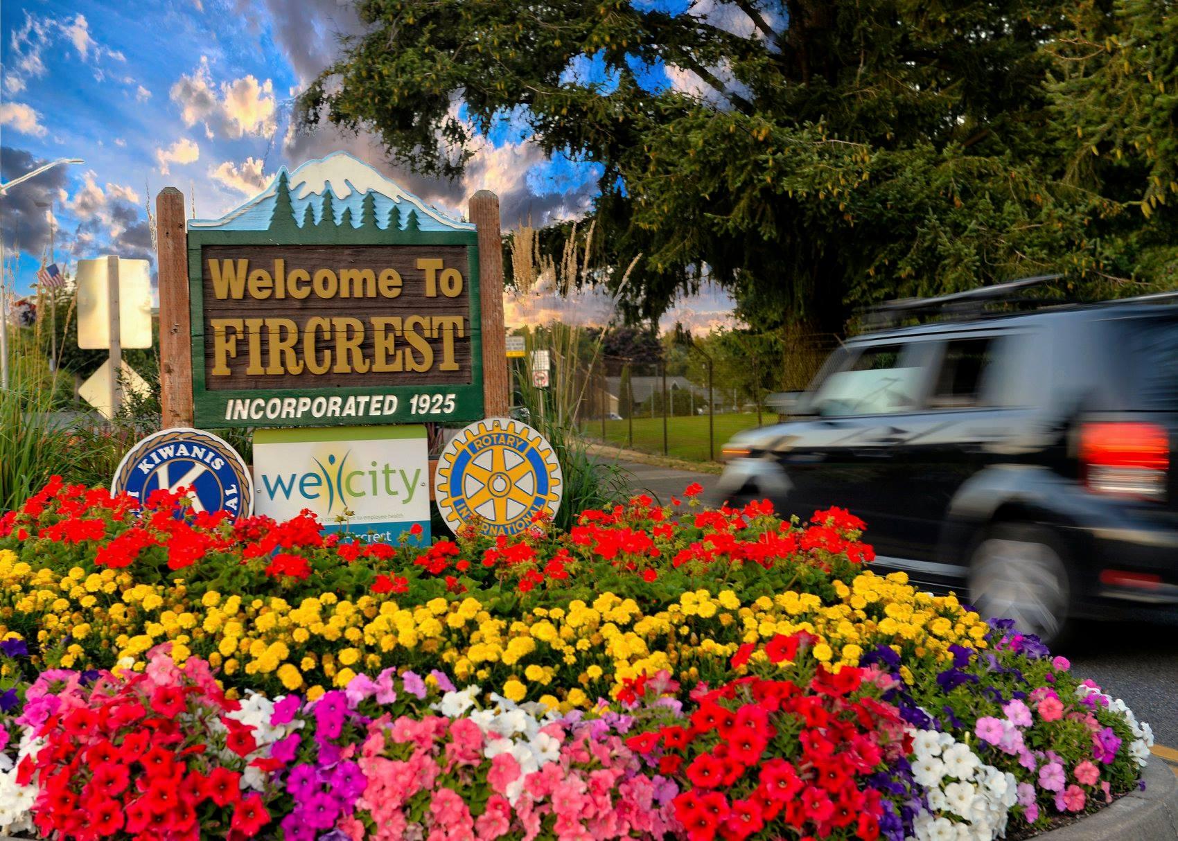 Image from    City of Fircrest, Washington